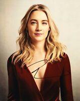 Saoirse Ronan Signed 10X8 Photo GENUINE Signature SEXY AFTAL COA (5378)