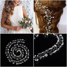 Perles de mariage cheveux vigne cristal Accessoires de mariée strass Bandeau fr