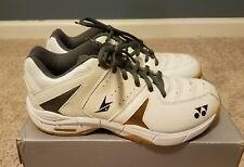 Yonex SHB SC2 Lin Dan Badminton Shoes (Men's 7, Women's 8.5, White)