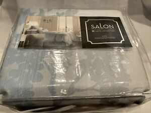 Hotel Collection Salon Wisteria Floral Blue King Duvet/Comforter Cover