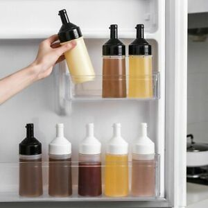 Sauce Bottle Dustproof And Leakproof Squeeze Bottle Condiment Dispenser