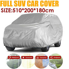 XL Full SUV Car Cover Waterproof Dust Rain Snow Resistant All Weather Protection