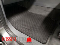 All Weather Rubber Floor Mats suitable for Ford Ranger Double Cab 2012-2018