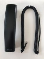 New HD Voice Handset for Polycom VVX IP Phone (with 12' Cord) Black / Charcoal