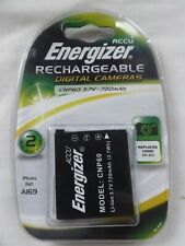 Energiser CNP-60 for Casio Camera Rechargeable Battery  3.7V 720mAh