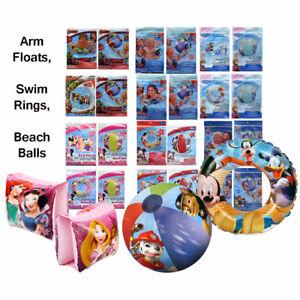 Children's Inflatable Arm Floats, Swim Rings & Beach Ball Pool Toy Disney Marvel