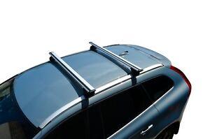 Alloy Roof Rack Cross Bar for Volvo XC60 08-17 With Flush Rails Alloy 120cm