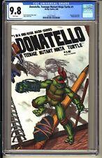 Donatello TEENAGE MUTANT NINJA TURTLES #1 CGC 9.8 TMNT Mirage 1986 Kevin Eastman