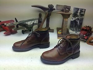 MADE IN ITALY KENNETH COLE DISTRESSED BROWN LEATHER HIKING TRAIL BOSS BOOTS 9 D