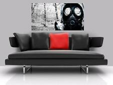 "DUBSTEP GAS MASK BORDERLESS MOSAIC TILE WALL POSTER 47"" x 25"" HARDSTYLE GABBA"