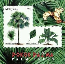 Malaysia Palm Trees 2009 Plant Flower Fruit Flora (ms) MNH *odd *unusual