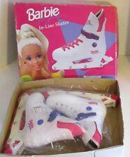 Vintage 1993 Unused Barbie InLine Skates Rollerblades NEW Brookfield Girl w/ Box