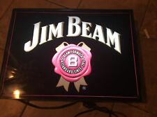"New Jim Beam Whiskey Beer Bar Neon Light Sign 17""x14"""