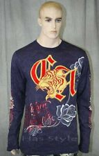 Christian Audigier Long sleeve TIGER FOIL  XXL shirt