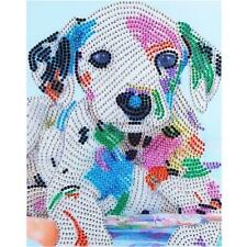 5D DIY Special-shaped Diamond Painting Animal Dog Cross Stitch Embroidery Craft