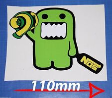 Domo Kun JDM Decal sticker NOS drift lowered Bumber/Window Japan Boost Funny WR