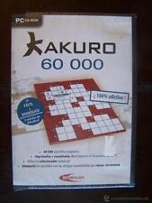 PC KAKURO 60.000 - NUEVO, PRECINTADO (4T)