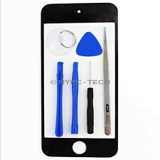New Black Replacement For iPod Touch 5th Gen Front Screen Glass Lens+Tool Parts