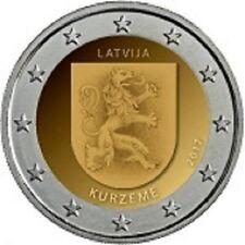 2 EURO COMMEMORATIVE LETTONIE 2017 REGION KURZENE