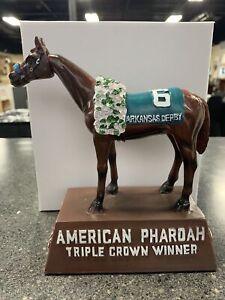 Oaklawn Bobble Head American Pharoah Horse Racing Arkansas Derby New In Box