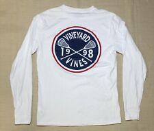 Vineyard Vines 1998 Lacrosse Long Sleeve T-Shirt Men's Size XS White