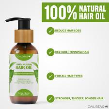 Hair Growth Oil-100% Natural Organic Herb Treatment-For All Hair Types-100&200ml