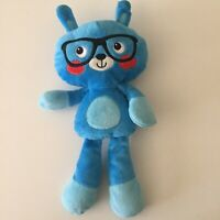 Baby Gear Geeky Nerd Blue Glasses Plush New Born Toy