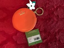BNWT kate Spade Spice Things Up Orange Coin Purse
