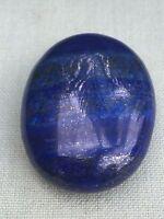 Lapis Palm Stone Worry Soap Stone Flat Lapis Lazuli Palm Stone Specimen Reiki.
