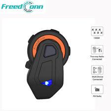 1500M 8Riders Bluetooth Interphone écouteur Casque de Moto BT Helmet Intercom FM