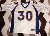 Vintage 90s Terrell Davis #30 Denver Broncos Nike NFL Football Jersey Mens Sz L