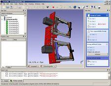 Professional CAD Suite parametric 3D modeler WINDOWS 10 8 7 XP PC  Mac OSX USB