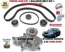 Pour Sonata de Hyundai 2.0 i 1998 - > nouvelle pompe à eau + timing Cam tendeur kit complet