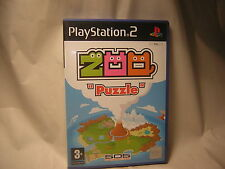 playstation 2 Zoo Puzzle  PS2