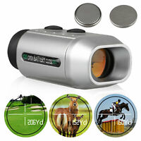Waterproof Digital 1000yards 7X Telescope Range Finder Golf Distance Measurer US