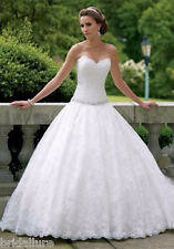 DAVID TUTERA MON CHERI 8 NEW $1699 IVORY LACE BRIDAL GOWN WEDDING DRESS BALLGOWN