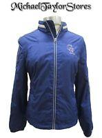 Colorado Rockies Women Full Zip Windbreaker Jacket MLB Purple Size S, M, L, XL