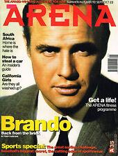 ARENA Magazine #35 S/A1992 MARLON BRANDO Monica Bellucci DON CHERRY @Excellent@