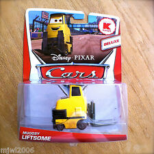 Disney PIXAR Cars MUGGSY LIFTSOME Kmart DELUXE diecast 2013 mail-in promo PITTY