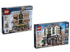 LEGO® Creator Expert Doppelpack 10211 + 10251 Großes Kaufhaus + Steine-Bank NEU