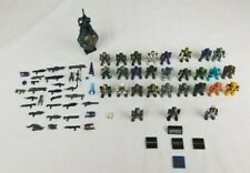 Halo Mega Bloks 29 Spartans and Aliens With Various Weapons, Pod, and Halo Bloks