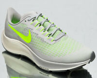 Nike Air Zoom Pegasus 37 Men's Grey Fog Volt Sail Running Jogging Shoes Sneakers