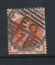 Gb Qv London Ec7 Cancel Dibden Type 81.Vfu Scarce