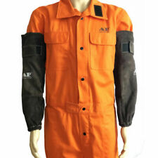 Durable Cowhide Split Leather Welding Sleeves Protective Heat Arm Sleeve Kit