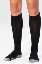2Xu Women's Compression Sock for Recovery (with Ironman Logo) - Black - Small
