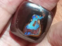 Pretty 26.65CT +VIDEO Australian Queensland Matrix Boulder Opal