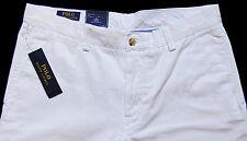 Men's POLO RALPH LAUREN White Chino Cotton Pants 36x34 NWT Bedford Classic Fit