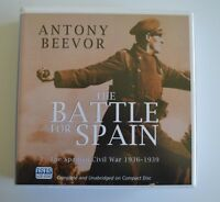 The Battle for Spain: by Antony Beevor - Unabridged Audiobook - 16CDs