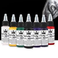 Inchiostro del tatuaggio del salone professionale di 7 colori 30ml / pianta Td