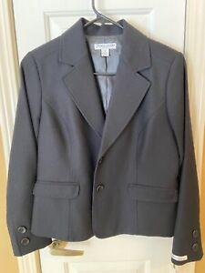 Pendleton Petite Black Blazer Size 8